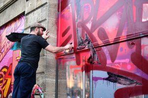 Путешествия по России будут рекламировать с помощью граффити
