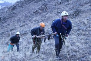Сотрудники МЧС спасли пожилого туриста из Ангарска, который более двух недель блуждал в горах Бурятии