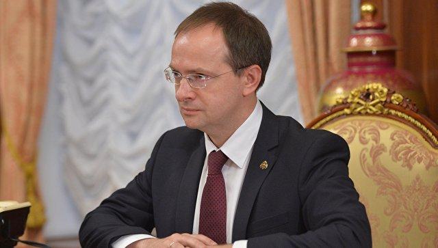 Мединский вручил ведомственные награды деятелям культуры и туризма