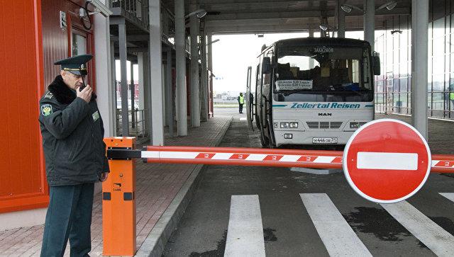 Под Смоленском закрыли пропускной пункт для иностранных туристов