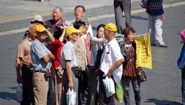 В России в период «золотой недели» возросло количество туристов из Китая
