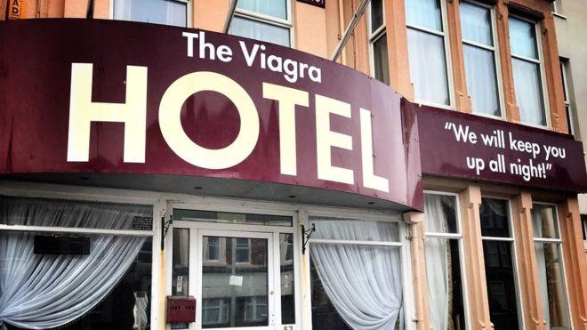В Великобритании открылся отель «Виагра»