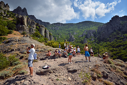 Крым за три года стал в пять раз популярнее у российских туристов