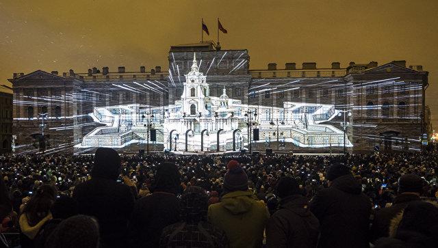 На Крестовском острове в Петербурге пройдет Фестиваль света