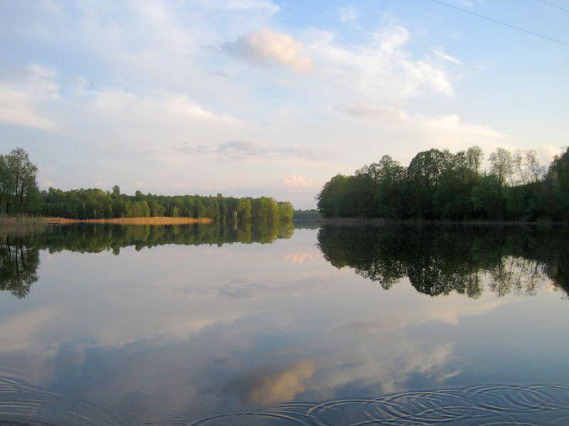 Осенний отдых на озере Спастер