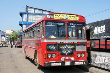 Автобусы на Шри-Ланке