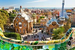 Сдай отпечатки и пройди в Парк Гуэль в Барселоне вне очереди