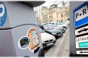 В эти выходные в Праге отключатся паркоматы