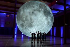 Европейцы смогут увидеть Луну на расстоянии вытянутой руки