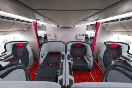 «Россия» установит в свои самолеты массажные кресла