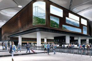 Новый аэропорт Стамбула обслужил первый рейс