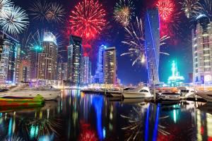 Новый год в Дубае: программа праздничных мероприятий