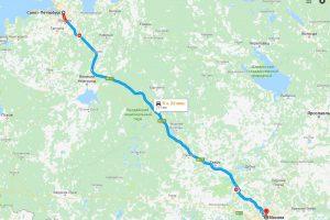 Дорога из Петербурга в Москву превратится в туристический маршрут