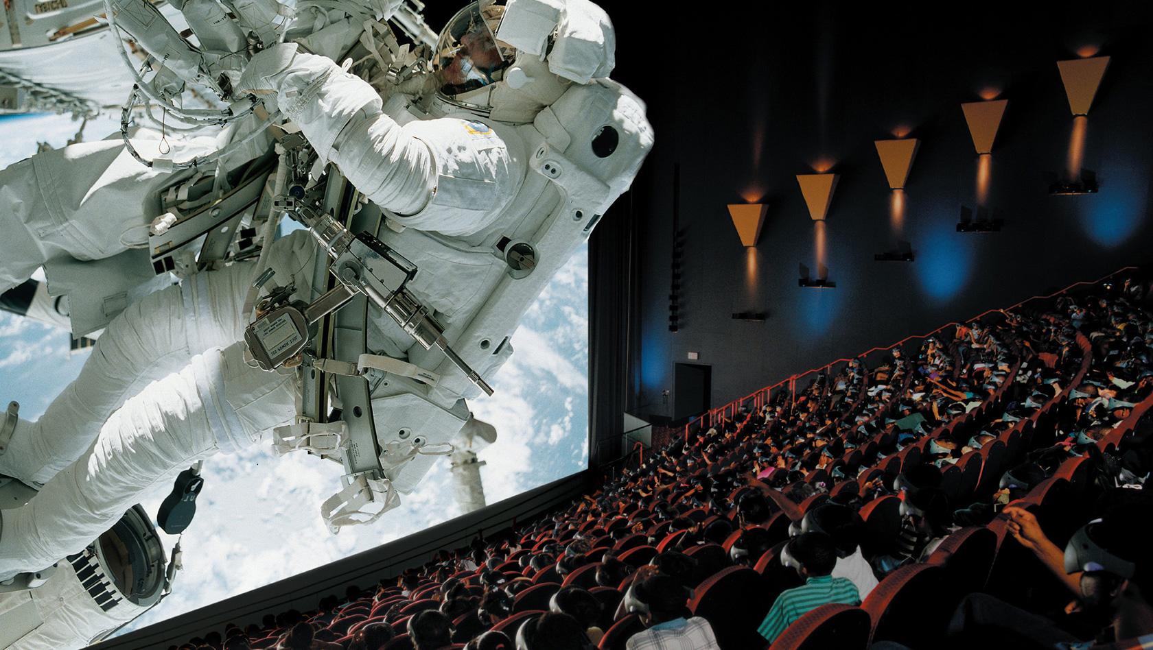 Мама, отпусти меня в кино — в Дубае открылся самый большой кинотеатр IMAX