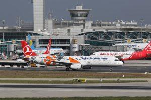 Из нового аэропорта Стамбула İstanbul Yeni Havalimanı поднялся в небо первый самолёт в Анкару