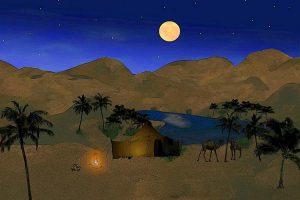 В ОАЭ посреди пустыни открылся шикарный отель-оазис 3 в 1