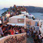 Санторини: количество туристов достигло физического предела