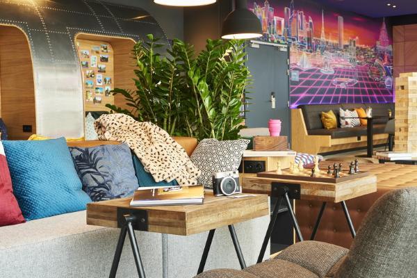 В Париже открылся второй отель Moxy — Moxy Paris Charles de Gaulle Airport