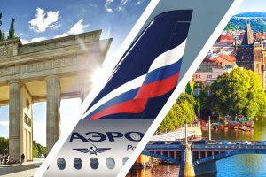 Аэрофлот объявил распродажу авиабилетов:  в Прагу -22%, в Берлин -14%