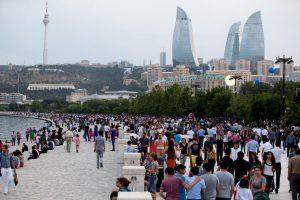 Российские туристы в Азербайджане заняли первое место по количеству