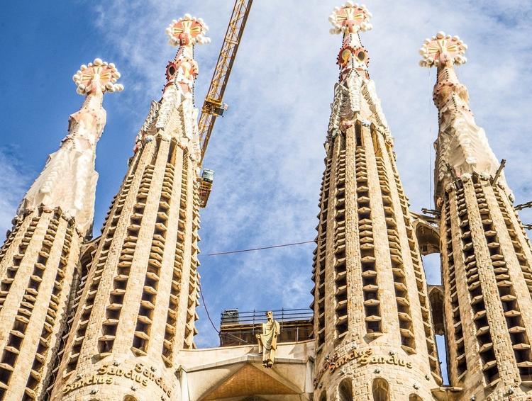 Осталось 6 лет, чтобы достроить Собор Святого Семейства в Барселоне
