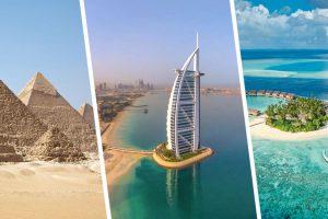 Авиакомпании озвучили цены в Дубай, Каир и Мале