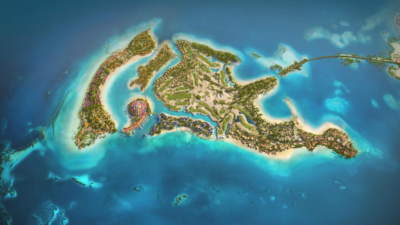 На Красном море возводят роскошный островной курорт