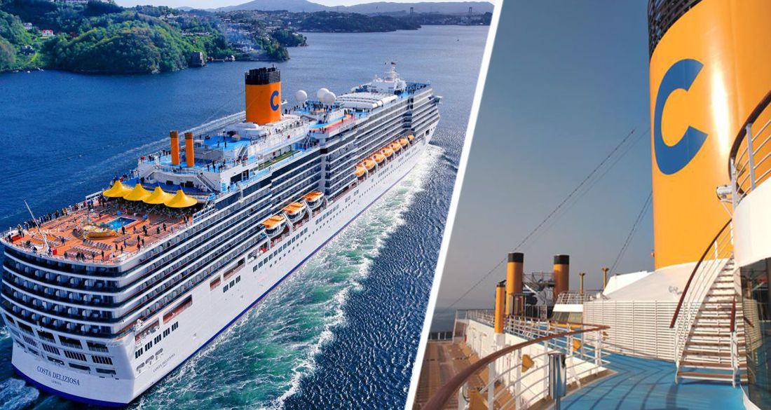 Costa Cruises перенесла начало круизов по Средиземноморью