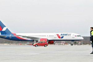 AZUR air открыла чартерные рейсы из Краснодара в Каир