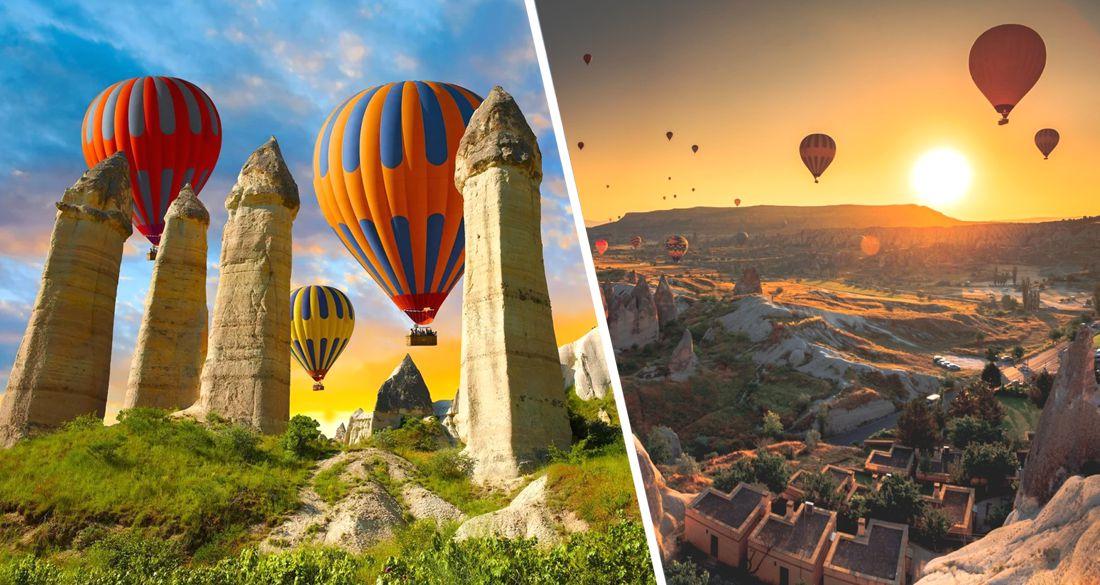 В Турции разрешили запускать шары с туристами