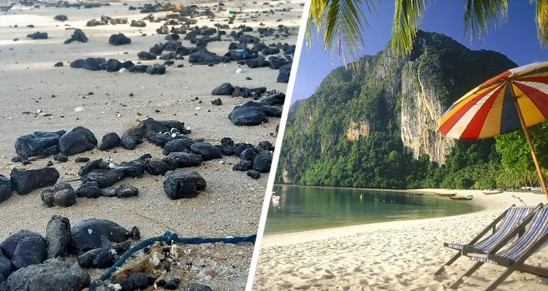 Над открытием популярного у россиян курорта нависла угроза: пляжи залило нефтью
