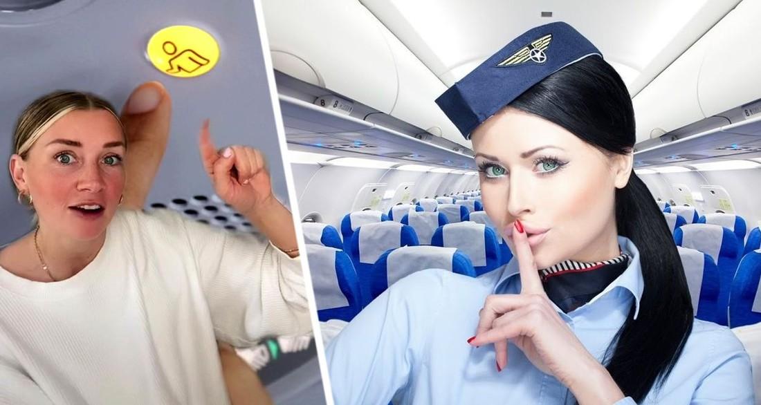 Стюардесса рассказала, когда не надо нажимать кнопку вызова персонала