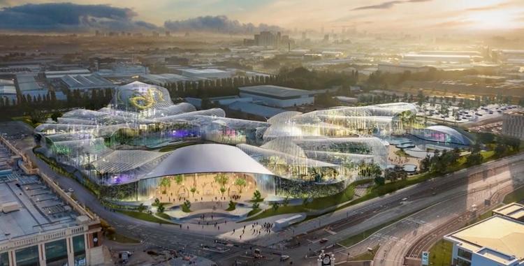 В Манчестере началось строительство огромного крытого аквапарка с термальной водой