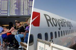 Самолёт в Турцию, полный туристов, был остановлен прямо на ВПП